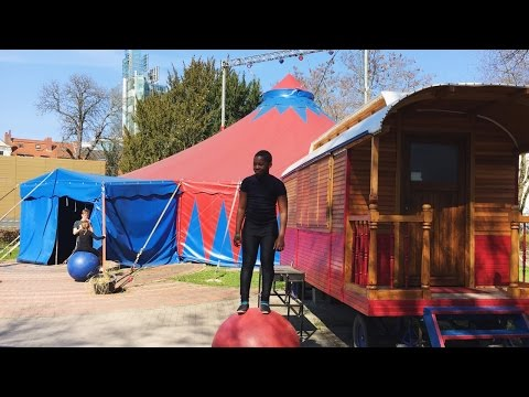 Hanging Out At A German Circus School | Hannover, Germany | Travel VLOG