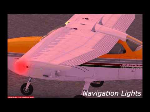FSX Tutorial: Aircraft Lights