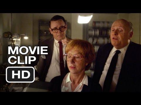 Hitchcock Movie CLIP - In Editing (2012) - Anthony Hopkins, Helen Mirren Movie HD