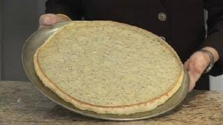 Thin Crust Pizza Dough Made With Egg & Milk : Italian Recipes