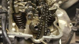 8 Nissan KA24E Timing Chain Measure, Start up Rattle D21
