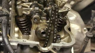 8 Nissan KA24E Timing Chain Measure, Start up Rattle D21