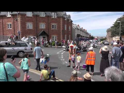 WATCHET CARNIVAL PROCESSION 2014