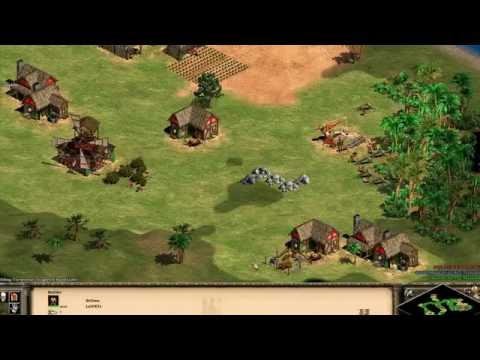 Age of Empires 2 HD: 1vs2 moderate (no commentary)