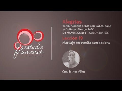 Curso Flamenco Online - 2.5 ALEGRÍAS - Solo Compás #19