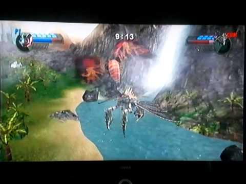 Godzilla Unleashed: Mothra vs Megaguirus - YouTube