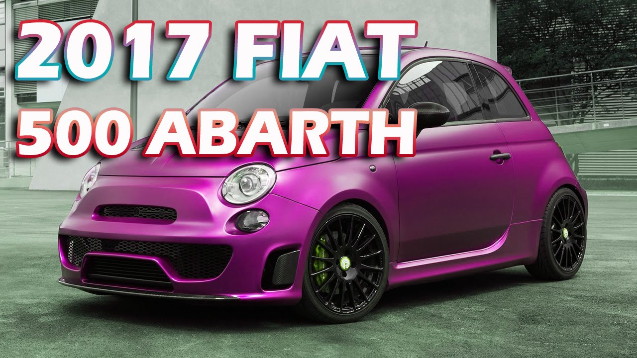 2017 fiat 500 abarth facelift youtube. Black Bedroom Furniture Sets. Home Design Ideas