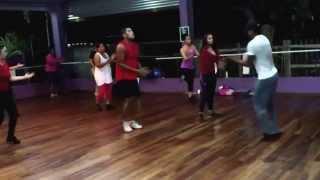 "GO SHAPO workout on ""Mr. Fete""  by Machel Montano"