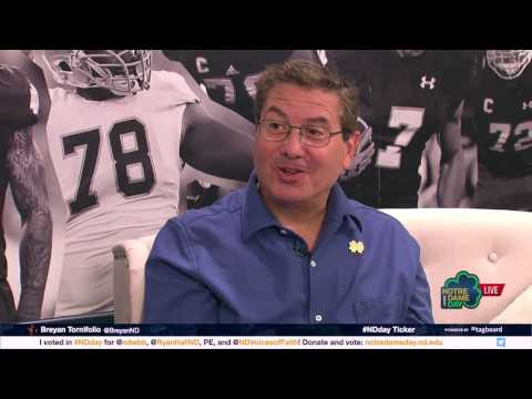 Interview with Dan Snyder - 2017 Notre Dame Day