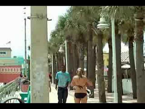 Daytona Beach Florida August 2008 Boardwalk