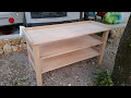 How to make a modular camp kitchen table