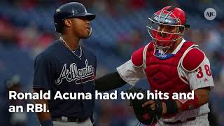 Five Braves who stood out in a win over the Phillies Tuesday