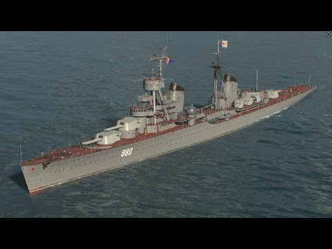 World of Warships - Kirov Tier 5 Russian Cruiser Overview