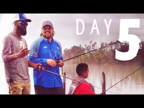 Day 5: Brian Latimer On Lake Seminole