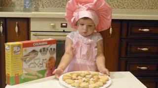 Малюшкины рецепты: печем печенье, обзор набора для выпечки Bino Culinaria