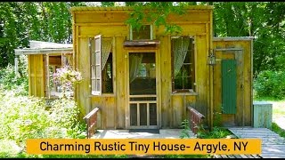 """""""charming Rustic Tiny House"""" In Argyle, Ny On An Organic Homestead"""