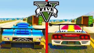 GTA 5 DLC Speed Test - Progen Tyrus vs RE-7B! (Which GTA 5 Super Car is Faster?)