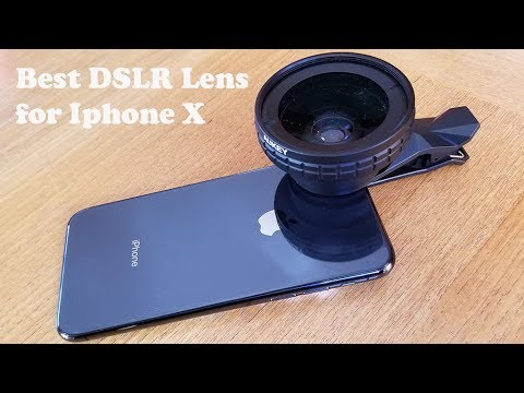 size 40 87b5e da95f Best DSLR Lens for Iphone X - Fliptroniks.com