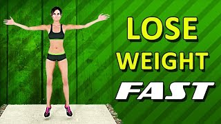 How To Lose Weight Fast With Exercise [Home Workout]
