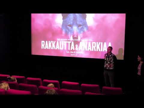 Rakkautta & Anarkiaa 2017 Q&A: FROM THE BALCONY -ohjaaja Ole Giæver