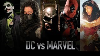DC vs MARVEL - LIVE ACTION BATTLES