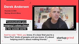 Video-to-Video Sample: Startup Grind Virtual Event