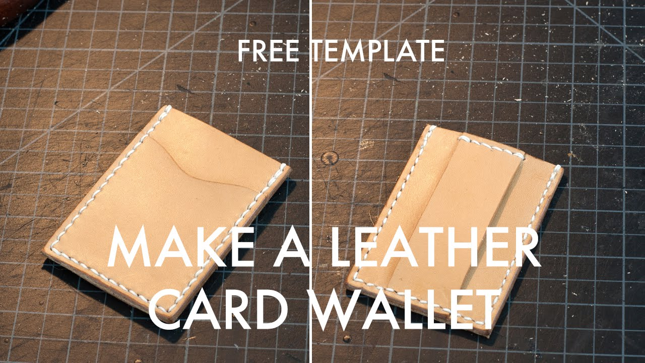Making a leather card wallet build along tutorial free pdf making a leather card wallet build along tutorial free pdf template youtube pronofoot35fo Images