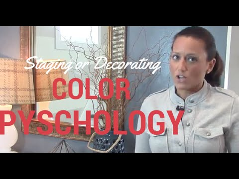 Color Psychology for Home Staging or Decor