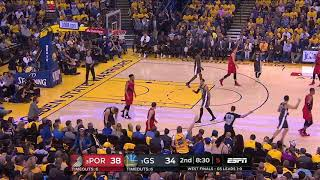 CJ McCollum All Game Actions 05/16/19 Blazers vs Warriors Game 2 Highlights