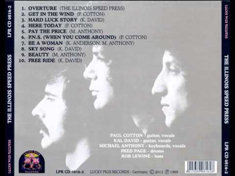The Illinois Speed Press - Hard Luck Story (1969)