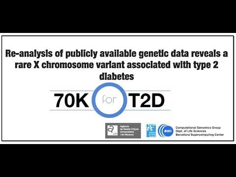 X chromosome  rare reg. var. associated with high risk for type 2 diabetes