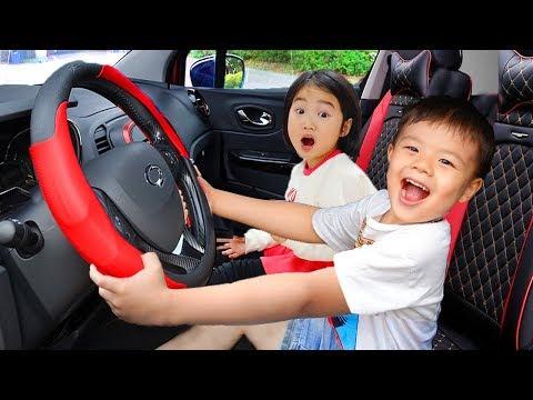 보람이와 친구들의 서울랜드 놀이공원 체험놀이 We are in the Car and go to Seoul Land