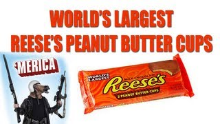 World's Largest Reese's Peanut Butter Cups - Happy 'murica Day
