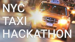 Open data unleashed: The NYC taxi dataset hackathon