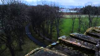 Huntly Castle Scotland top of Tower 2