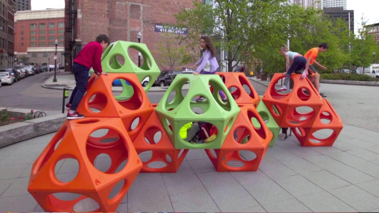 Playcubes Geometric Modern Playground Equipment Playworld