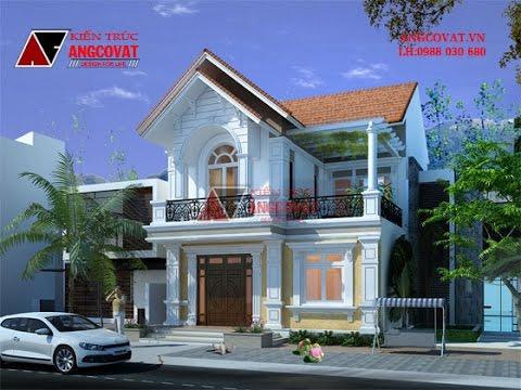 Thiết kế nhà 2 tầng 100m2 giá 900 triệu ở Hưng Yên