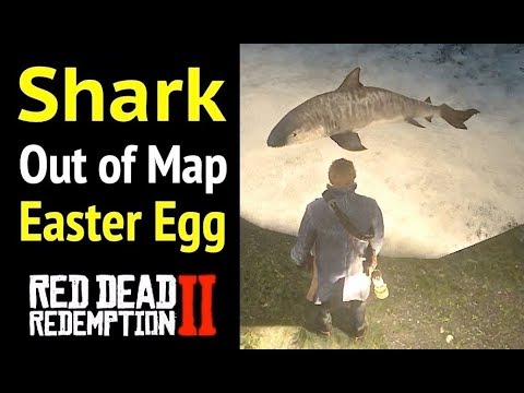 Shark (Out of Map) in Red Dead Redemption 2 (RDR2): Easter Egg - Return To Guarma Without Snipers
