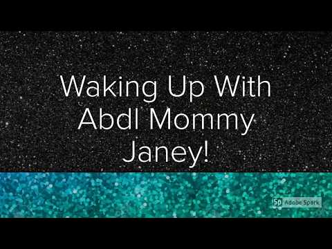 Waking Up With Abdl Mommy