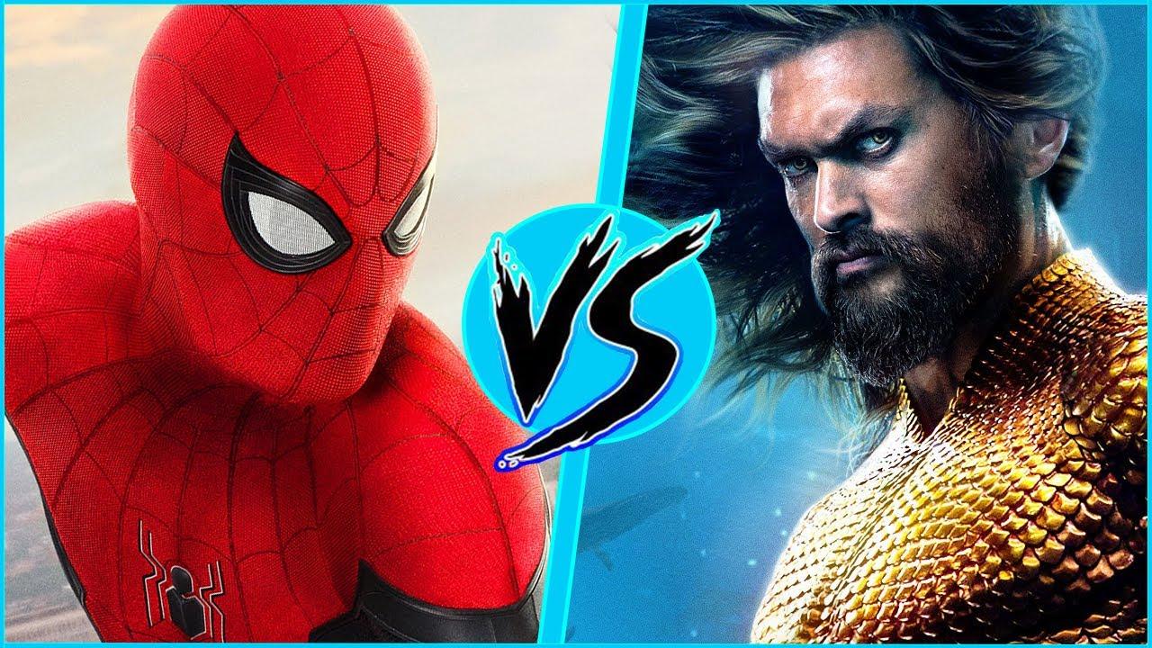 Spider-Man VS Aquaman | BATTLE ARENA | MCU vs DCEU | Spider-Man: No Way Home | DanCo VS