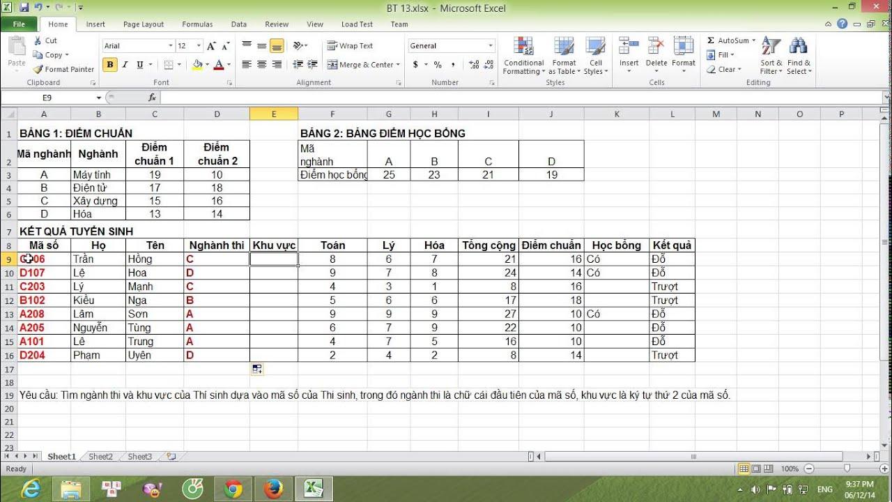 Hướng dẫn cách sử dụng làm left, right, mid trong Excel