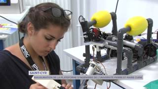 Saint cyr l'école : inauguration de la platforme d'ingénierie de l'université P.M Curie