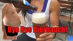 Bye Bye Bierbauch! Wie Mann den Bierbauch verliert!