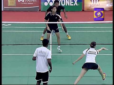 Ahilya Harjani & Satwik Sai Raj, Junior National Semi- Finals 2015.