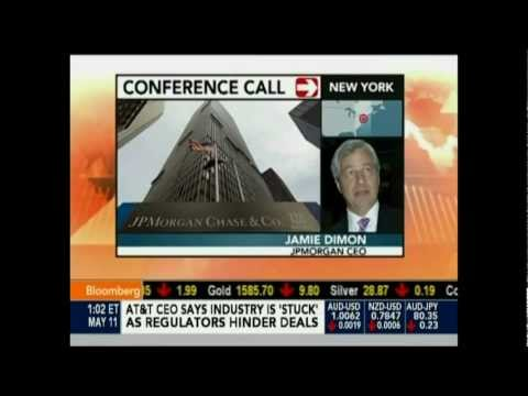 JAMIE DIMON WRITTEN UP AND ISSUED A CORRECTIVE & DISCIPLINARY ACTION OVER $2B TRADING LOSS (PART 1)