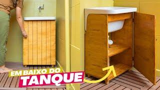DIY – Armário Embaixo Do Tanque