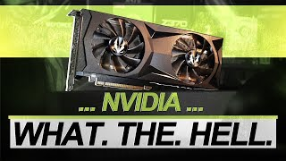 NVIDIA, what the HELL..?! -- ZOTAC RTX 2080 SUPER Twin Fan