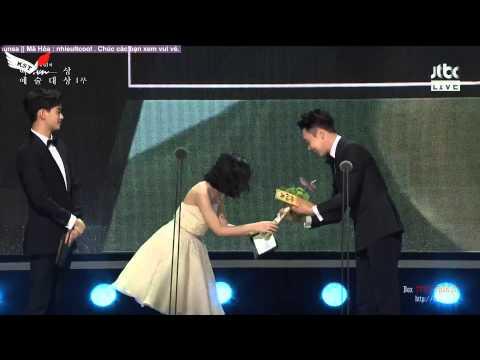 [Vietsub][26.05.2015] Park Yoo Chun tại lễ trao giải Baeksang lần thứ 51