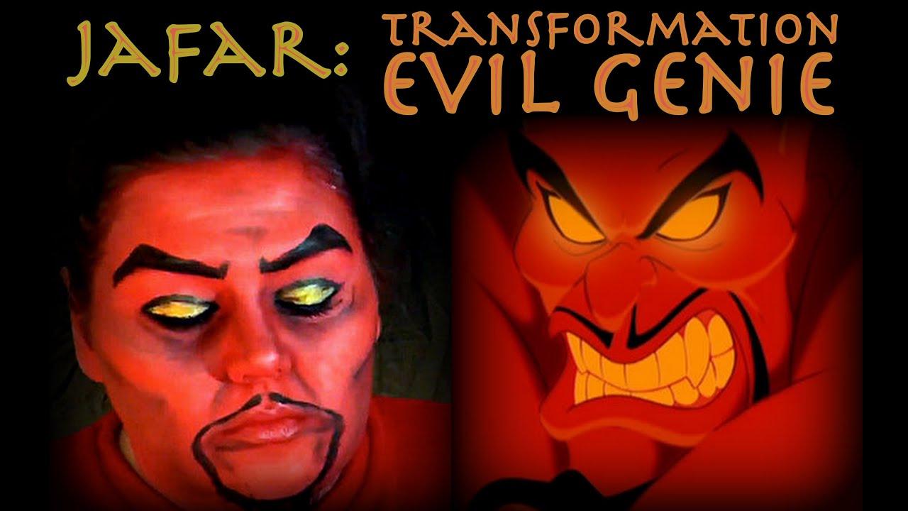 Jafar: Transformation to the Evil Genie - YouTube