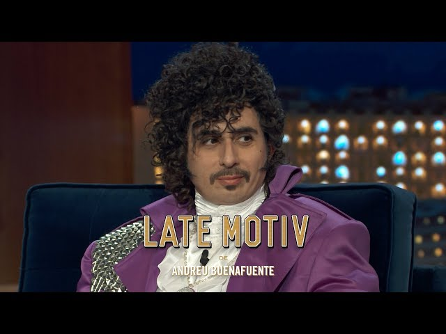 "LATE MOTIV - Berto Romero es Prince en ""Cantantes Muertos""   #LateMotiv389"